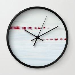 Morning Shore Wall Clock