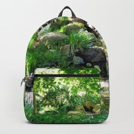 Tranquil stream Backpack