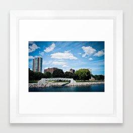 Milwaukee, WI Framed Art Print
