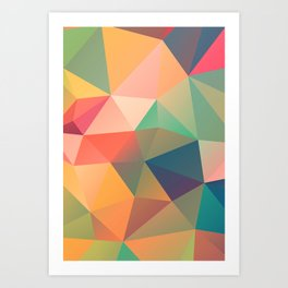 Geometric XIV Art Print