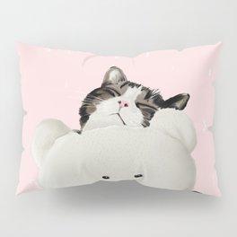 Cat Hug Me! Pillow Sham