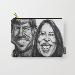 Chip & Joanna Gaines Caricature Carry-All Pouch