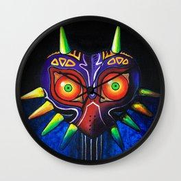 Masked Painting Wall Clock
