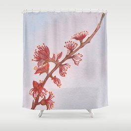 Almond Branch Shower Curtain