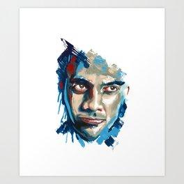 Test Portrait Art Print