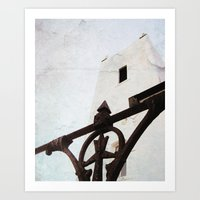 thrones Art Prints featuring Church of Thrones by Judith Kimber Photography