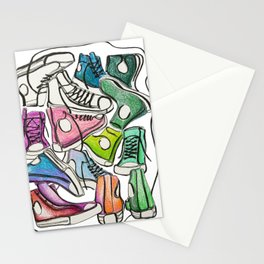 Sneaker Party Stationery Cards