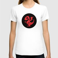 daenerys targaryen T-shirts featuring Modern Dragon Sigil by Arne AKA Ratscape