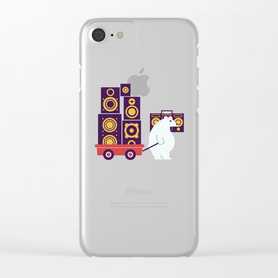 Ready to Jam Clear iPhone Case