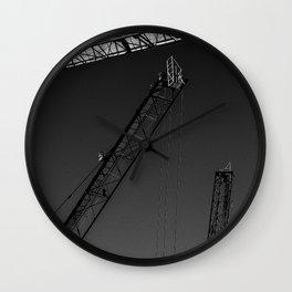 Cranes Wall Clock
