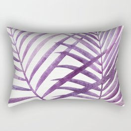Purple Palms Rectangular Pillow