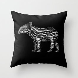 Tapir Throw Pillow