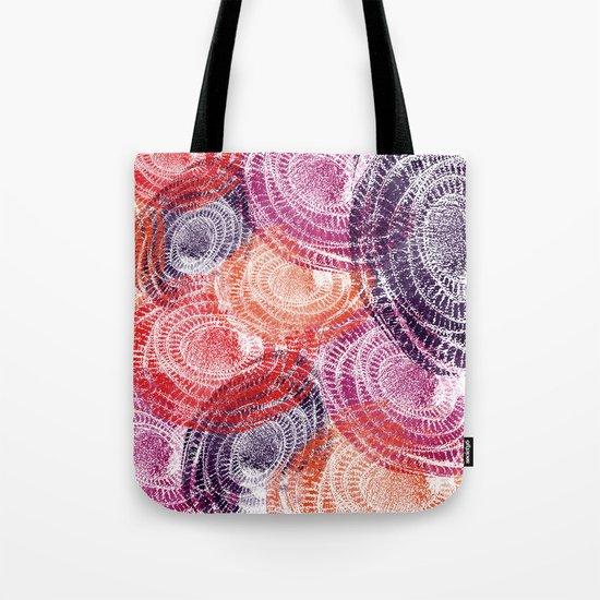 Abstract Circles Tote Bag