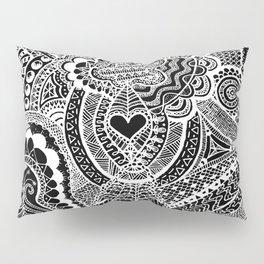 Love Doodle Pillow Sham