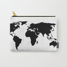 World Outline Carry-All Pouch