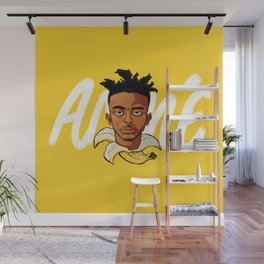 Yellow Banana Wall Mural