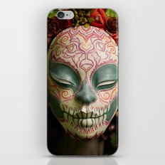 Acorn Harvest Muertita Detail iPhone & iPod Skin