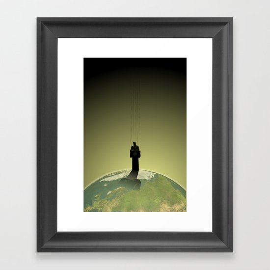 Hierarchy Framed Art Print