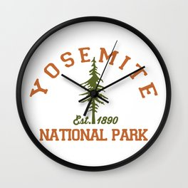 Yosemite. Wall Clock