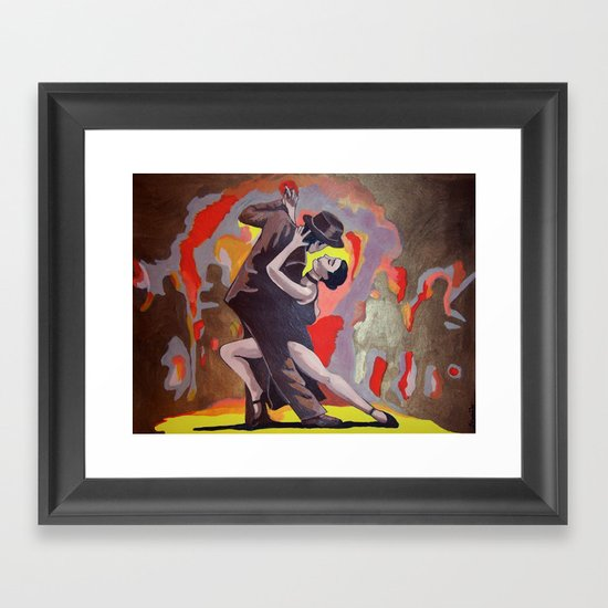 Tango Passion Framed Art Print