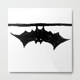 Bat friend Metal Print