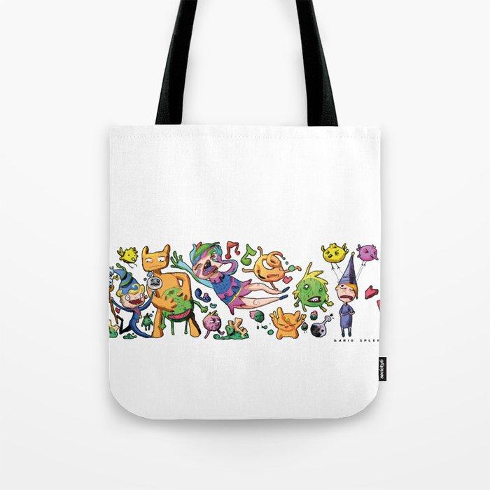 Doodle - Dario Splendido Tote Bag