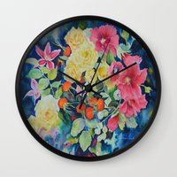 vogue Wall Clocks featuring VOGUE by Beatrice Cloake