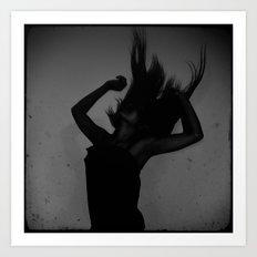 Dance B&W Art Print