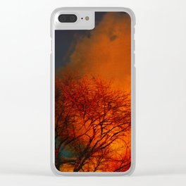Violent Autumn #2 Clear iPhone Case
