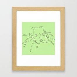 harry spider Framed Art Print