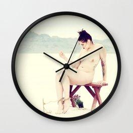 """Bound Desolation"" #2 Wall Clock"