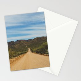 Lonely Road - Apache Trail, Arizona Stationery Cards