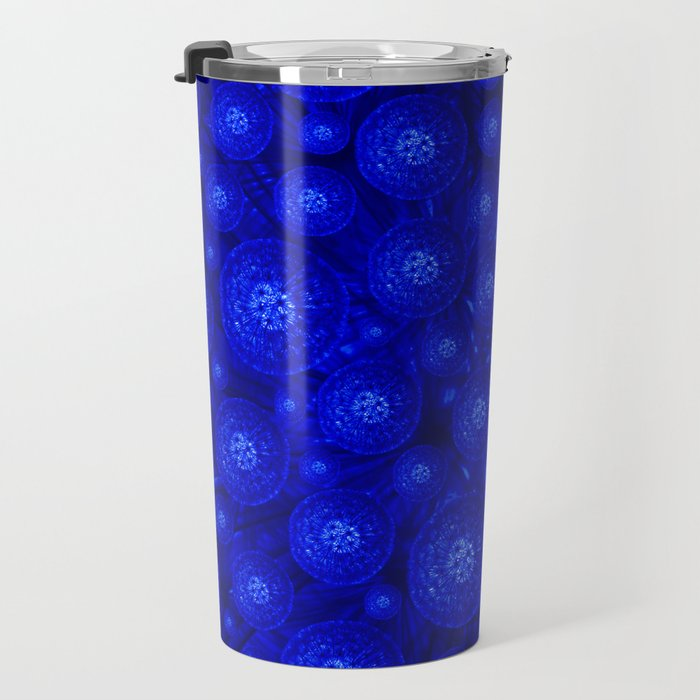 Dandelion in the dark Travel Mug