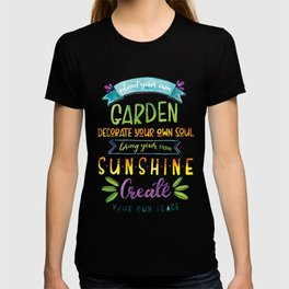 Plant your own garden T-shirt