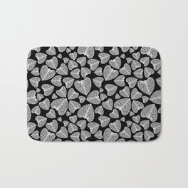 Black White Pattern Bath Mat