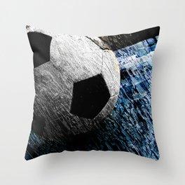 Soccer art variant vs 1 Throw Pillow