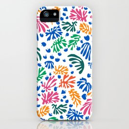 Matisse Colorful Pattern #1 iPhone Case