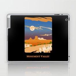 Monument Moon2 Laptop & iPad Skin