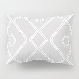 Modern Boho Ogee in Grey Pillow Sham