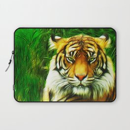 Tiger is Not Amused Laptop Sleeve