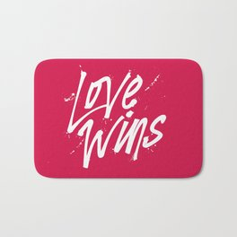 Love Wins Bath Mat
