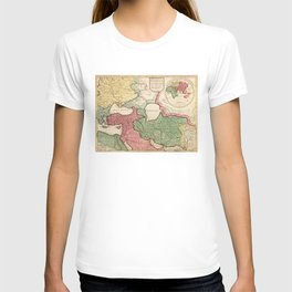 Map of the Middle East (1712) T-shirt