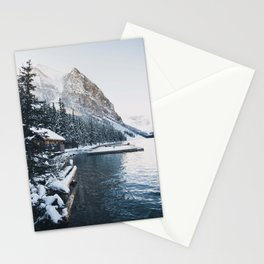 Winter Lake Louise Stationery Cards