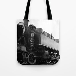 old steam locomotive Tote Bag