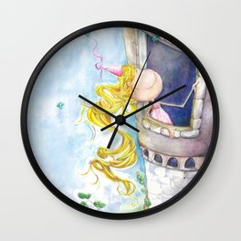 Princess Rapunzel Wall Clock