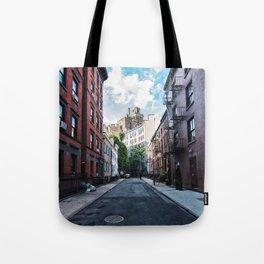 Gay Street, Greenwich Village Tote Bag