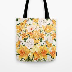 Wordsworth  and daffodils. Tote Bag