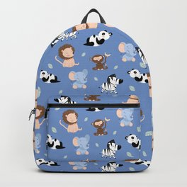 The jungle animals pattern Backpack