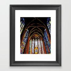 Sainte Chapelle Framed Art Print