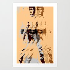 FPJ agent orange Art Print